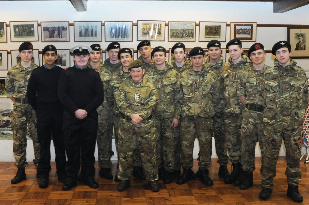 charterhouse-captain-verna-burrell-taylor-and-cadets-jan-2017