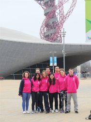 Swimmers Olympic park