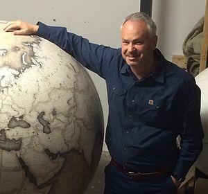 Tim Marshall Globe